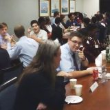 Insurance careers networking for 90 high school students