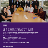 KPMG's K-Nect Networking Event
